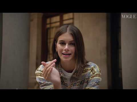 Kaia Gerber: In The Bag | Jimmy Choo & British Vogue