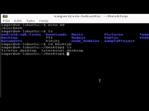 Command to change directory in Linux
