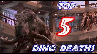 Top 5 Most Brutal DINO Deaths in the Jurassic Park Movies