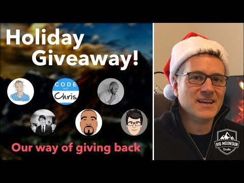 Big Holiday Giveaway 2017!