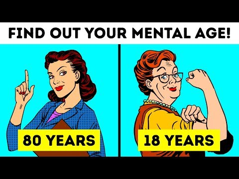 WHAT IS YOUR MENTAL AGE? 🤨 - PERSONALITY TESTS