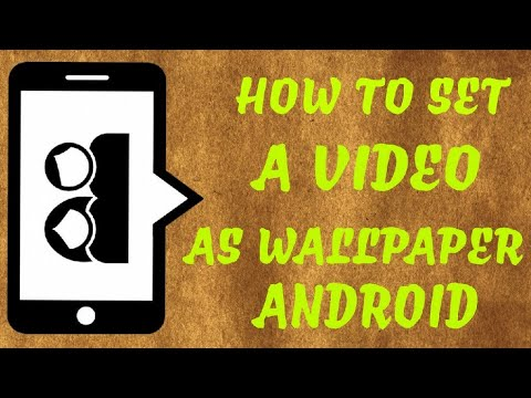How To Set Video As Wallpaper On Android EASIEST METHOD