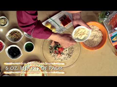Composed Pasta Salad with Honey Smoked Salmon