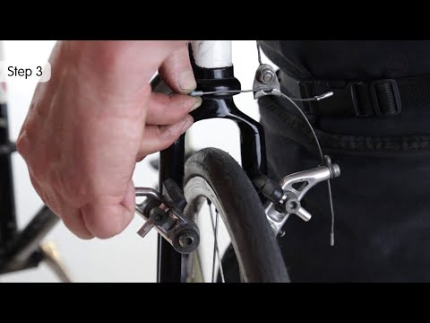 Open A Cantilever Bike Brake
