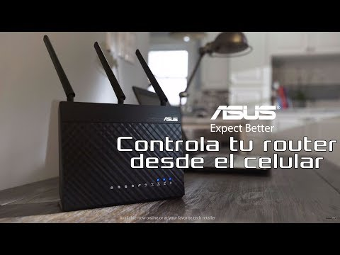 Controla tu router desde el celular - ASUS router app | ASUS