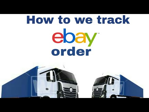 How to we track our order from Ebay In simple way.....