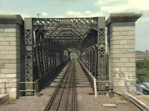 Enterprise Dublin to Belfast Driver's eye view preview