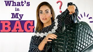 What's In My Bag? | What's Inside Nadia Khan Precious Luggage? | Matcha Green Tea For Weight Loss