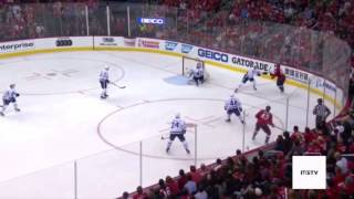 Tom Wilson Scores OT Winner Against Frederick Anderson - Capitals vs. Leafs - NHL Playoffs - Game 1