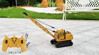 4GL CRAWLER Crane RC Car 10 Channel 2.4G Remote Control Car 1:16 RC Crawler RC Truck RC Toys