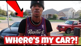 I TOWED TRAY'S CAR!!! (IT'S GONE FOREVER)