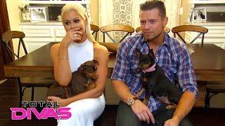 Maryse surprises The Miz with their new rescue dog, Luna: Total Divas, Nov. 30. 2016