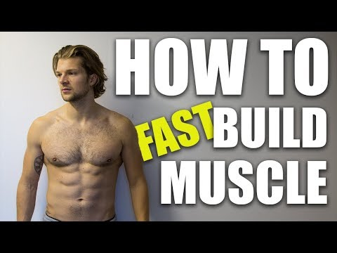 HOW TO BUILD MUSCLE FAST!