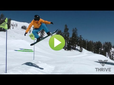 Snowboard Trick Tips: Basic Airs