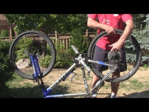 How To Remove The Rear Wheel of a Bicycle