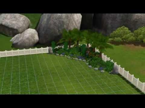 The Sims 3 - Building a garden