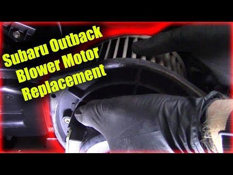 Subaru Outback Blower Motor Replacement