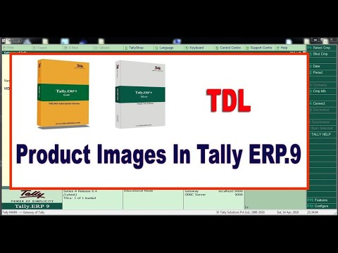 How to Attach Stock Item Images In Tally ERP.9