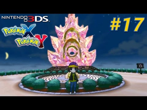 Pokémon X and Y - Playthrough Nintendo 3DS PART 17 (Route 17 Mamoswine Road / Anistar City...)