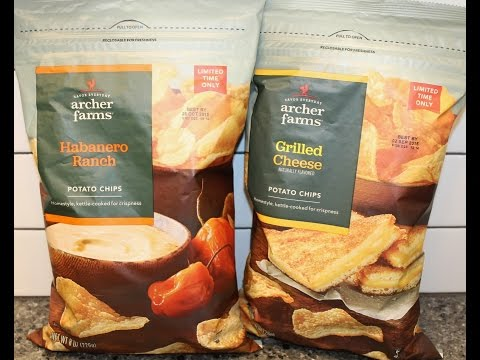 Archer Farms: Habanero Ranch & Grilled Cheese Potato Chip Review