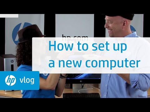 How to Set Up a New Computer: HP How To For You