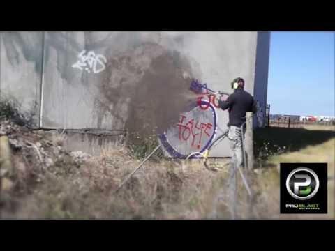 Graffiti Removal Dustless Blasting Pro Blast Melbourne