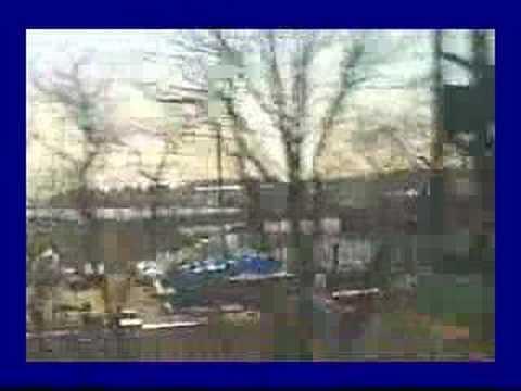 Bridgeport, CT South on Amtrak on 3/27/1997