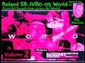 Roland Sr Jv80 05 World Expansion V2 Essential Sounds 2016 A