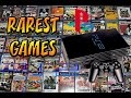 Top 15 Rarest PS2 Games   Most Expensive PS2 Games