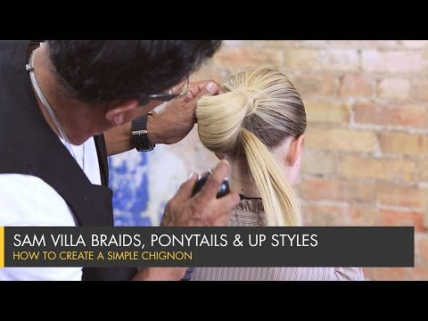 How To Create a Simple Chignon