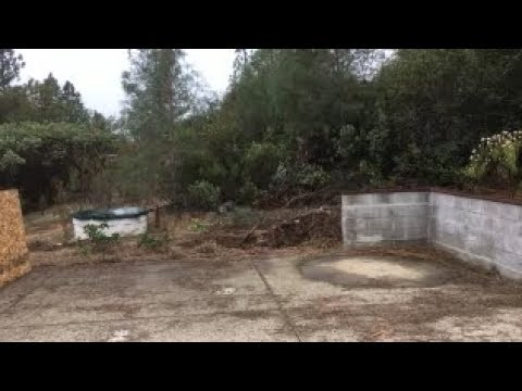 Preparing the slab for Aquaponics