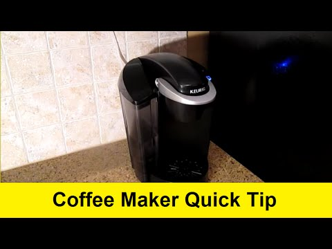 How to Quickly and Automatically Fill Your Keurig Coffee Maker's Water Container