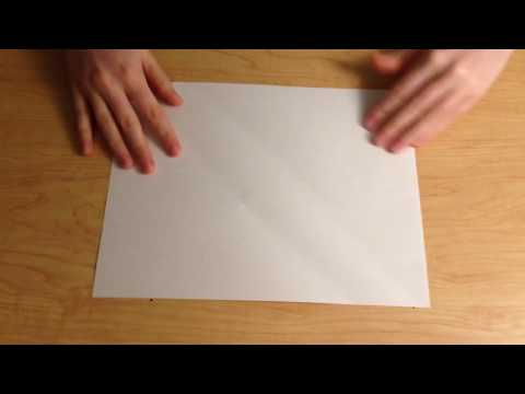 DIY Envelope - no tape no glue
