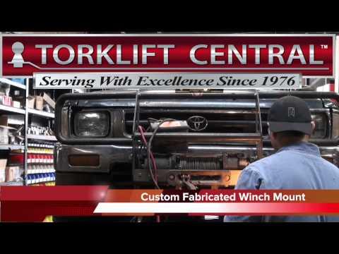 Torklift Central Welding Custom BrushGuard Installation