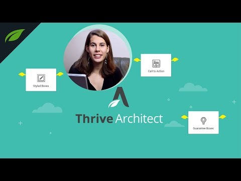 3 New Elements in Thrive Architect for Faster Page Building