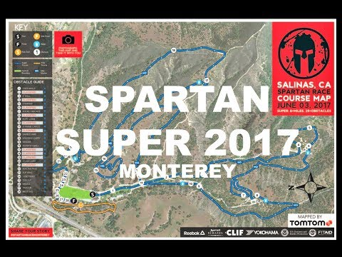 Spartan Monterey Super 2017 (All Obstacles in Order)