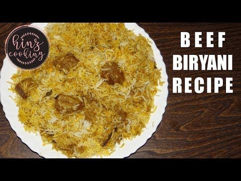 Beef Biryani Recipe - Ramadan 2018 Special - Eid Recipe by Hinz Cooking