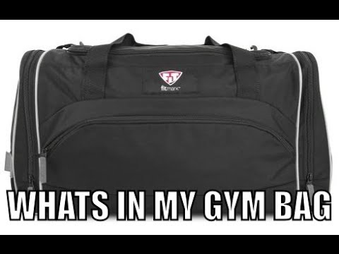 Whats In My Gym Bag???