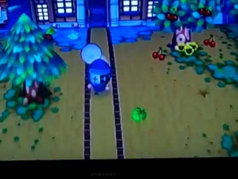 Animal Crossing: City Folk- Chased by 2 Scorpions!