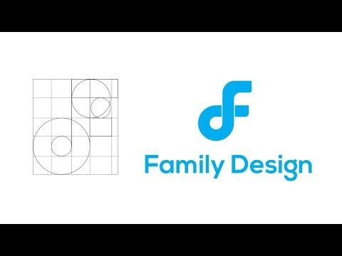 Illustrator Tutorial/ family design Logo