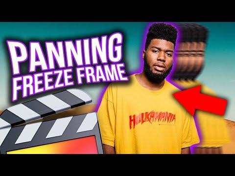 PANNING FREEZE FRAME ANIMATION - FINAL CUT PRO X