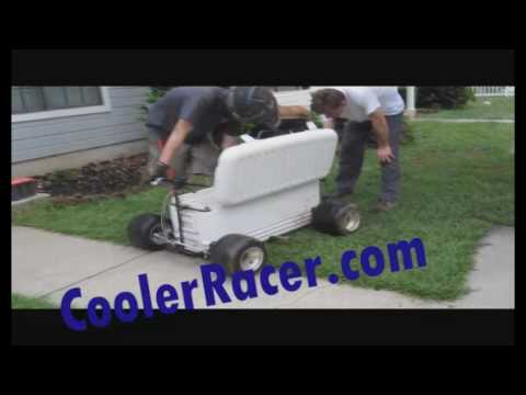 Cooler Racer (Worlds Fastest Cooler / Ice Chest) Goal= 101mph