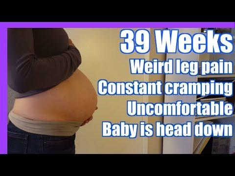 CRAZY LEG CRAMPS | 39 Weeks Pregnant