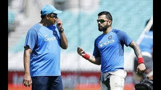 Virat Kohli reacts on Anil Kumble