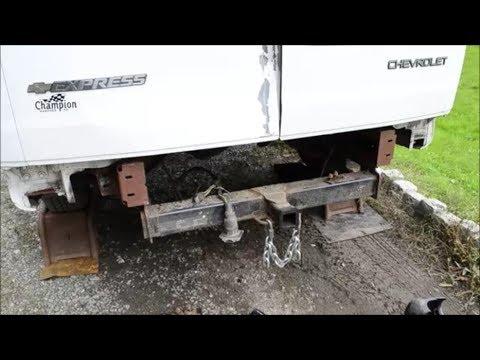 Express / Savana Van Bumper Removal