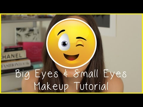 Eye makeup tutorial: How to make your eyes look bigger and smaller
