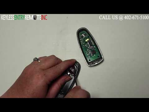 How To Change A Ford Edge Key Fob Battery 2011 -2015 Part # BT4T-15K601
