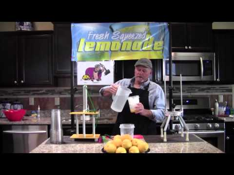 Lemon Squeezer Machine Elite 2015