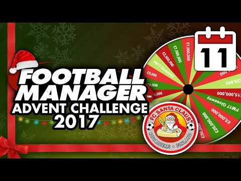 Football Manager 2018 Advent Challenge: 11th Dec #FM18   Football Manager 2018