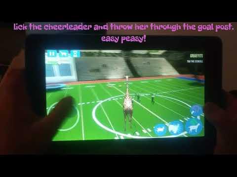 How to get Cheerleader Goat ANDROID walkthru